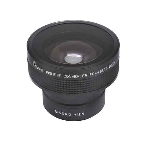 0.25X Super Fisheye Wide Angle Lens - Pixco