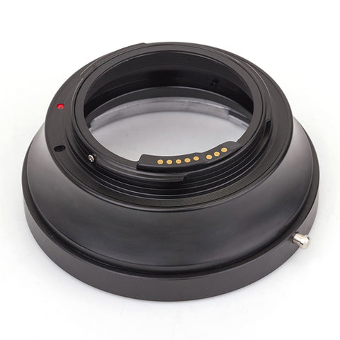 Pentax 645-Canon EOS GE-1 AF Confirm Adapter - Pixco