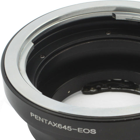 Pentax 645-EOS AF-3 Confirm Adapter - Pixco - Provide Professional Photographic Equipment Accessories
