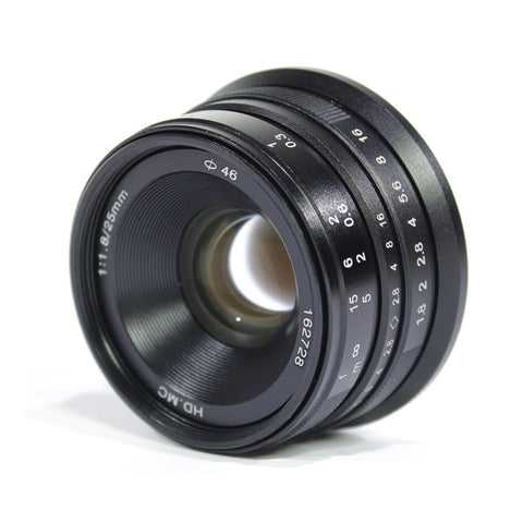 Pixco 25mm F1.8 HD.MC Manual Focus Lens - Pixco - Provide Professional Photographic Equipment Accessories