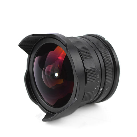 Pixco APS-C CL-Mil7528N 7.5mm F2.8 Fish-eye Wide Angle Lens - Pixco