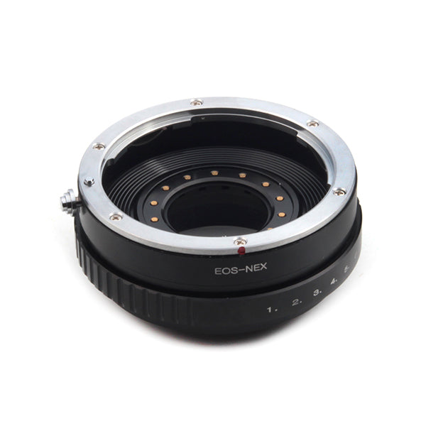 Canon EF-Sony NEX Built-In Aperture Control Dial Adapter - Pixco - Provide Professional Photographic Equipment Accessories