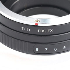 Canon EF-Fujifilm X Tilt Adapter - Pixco - Provide Professional Photographic Equipment Accessories