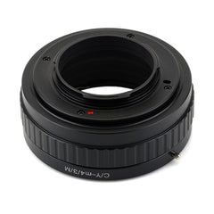 Contax Yashica CY-Micro4/3 Macro Focusing Helicoid Adapter - Pixco