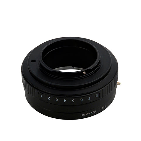 Contax Yashica CY-Micro4/3 Tilt Adapter - Pixco