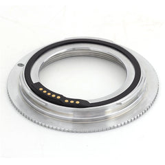 M42-Canon EOS Flange Silver GE-1 AF Confirm Adapter - Pixco