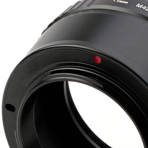 M42-Micro 4/3 Adapter Black - Pixco - Provide Professional Photographic Equipment Accessories