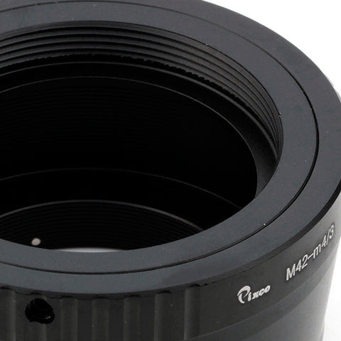 M42-Micro 4/3 Adapter Black - Pixco