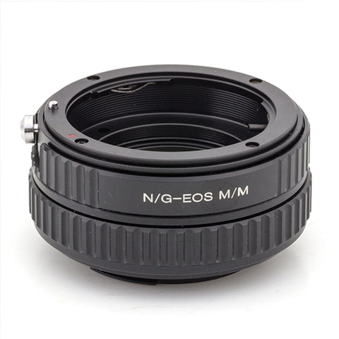Nikon G-Canon EOS M Macro Focusing Helicoid Adapter - Pixco - Provide Professional Photographic Equipment Accessories