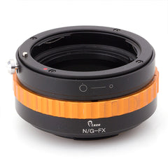 Nikon G-Fujifilm X Adapter (Color Version) - Pixco - Provide Professional Photographic Equipment Accessories