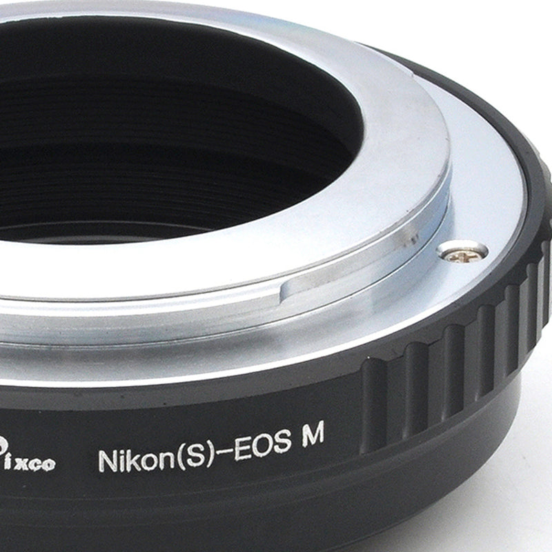 Nikon S-Canon EOS M Adapter - Pixco - Provide Professional Photographic Equipment Accessories