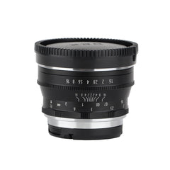 35mm F1.6 APS-C Large Aperture Manual Focus Prime Fixed Lens - Pixco