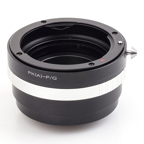 PK-Pentax Q Built-In Aperture Control Dial Adapter - Pixco - Provide Professional Photographic Equipment Accessories