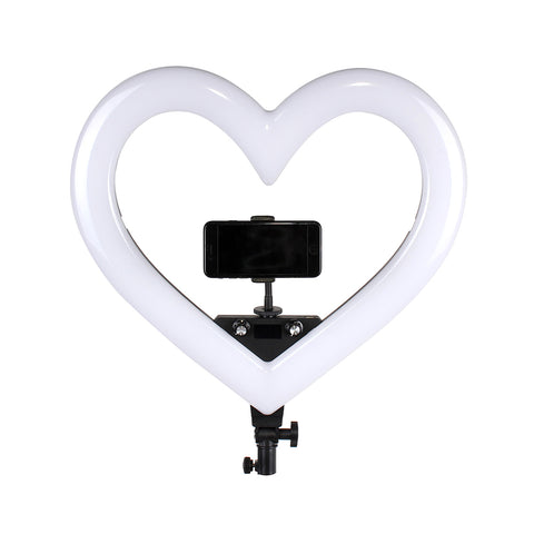 Pixco 19'' Multi-Color Heart LED Lighting,3200K-5600K,8 Light Modes - Pixco - Provide Professional Photographic Equipment Accessories