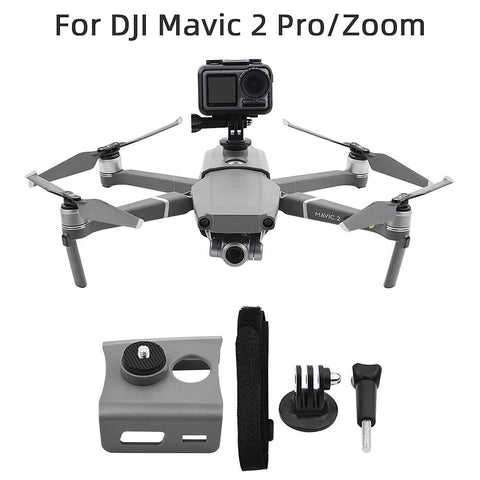 360 Degree VR Panorama Action Multifunctional Fixed Camera Holder for DJI Mavic 1 / 2 Pro - Pixco