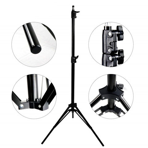 Pixco 7ft Photography Light Stand Tripod for Photo Studio Lighting - Pixco
