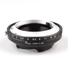 CRX-Leica M Silver Adapter - Pixco - Provide Professional Photographic Equipment Accessories
