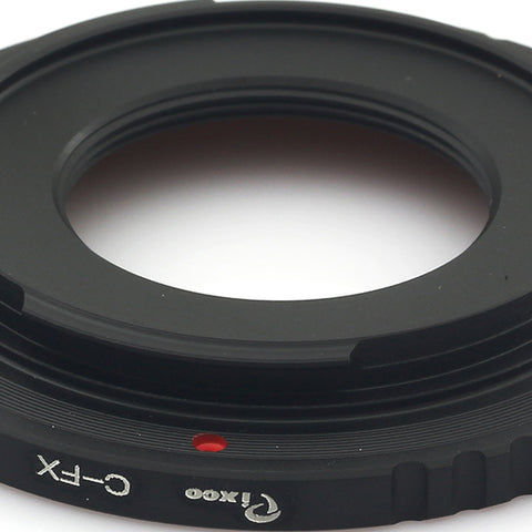 C Mount-Fujifilm X Adapter - Pixco - Provide Professional Photographic Equipment Accessories