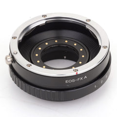 EF-Fujifilm X Built-In Aperture Control Dial Adapter - Pixco - Provide Professional Photographic Equipment Accessories