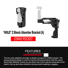 Pixco Handheld Shock Absorber Bracket for DJI Osmo Pocket - Pixco - Provide Professional Photographic Equipment Accessories