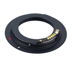 M42-Canon EOS AF-3 Confirm Adapter Black - Pixco