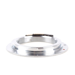 M42-Canon EOS Non-flange Silver EMF AF Confirm Adapter - Pixco - Provide Professional Photographic Equipment Accessories