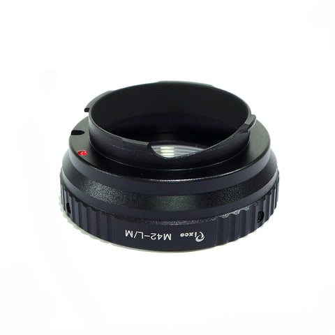 M42-Leica M Black Adatper - Pixco - Provide Professional Photographic Equipment Accessories
