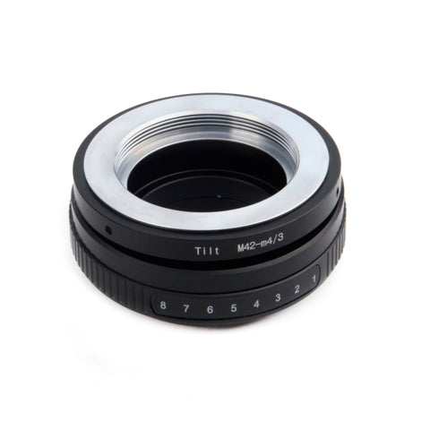 M42-Micro 4/3 Tilt Adapter - Pixco - Provide Professional Photographic Equipment Accessories