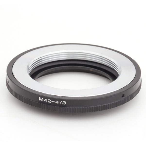 M42-Olympus 4/3 Silver Adapter - Pixco - Provide Professional Photographic Equipment Accessories