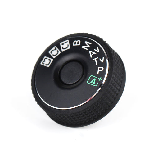 Mode Dial Plate Interface Cap For Canon EOS - Pixco