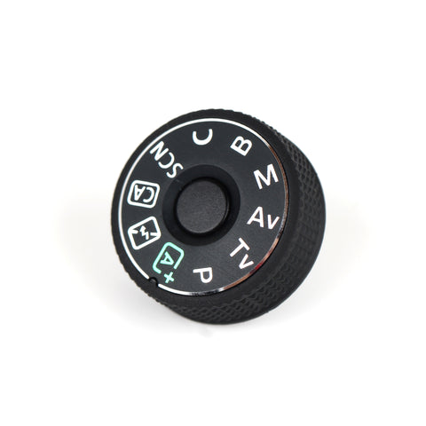 Mode Dial Plate Interface Cap For Canon EOS - Pixco - Provide Professional Photographic Equipment Accessories