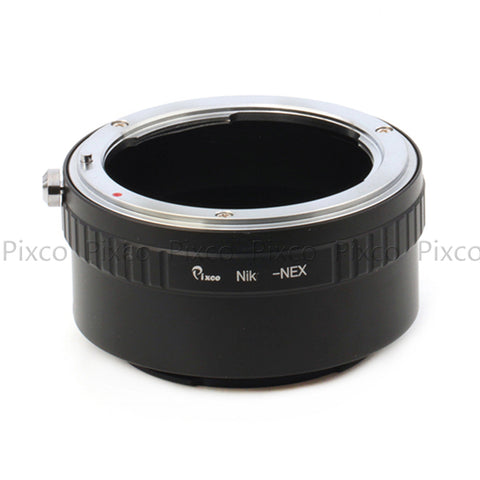 Nikon-Sony NEX Adapter - Pixco - Provide Professional Photographic Equipment Accessories