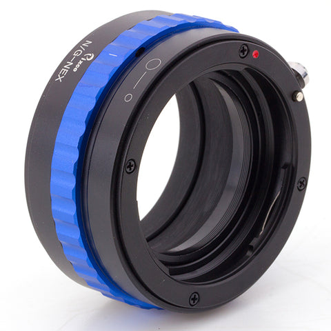 Nikon G-Sony NEX Adapter (Color Version)