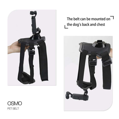 Pet Dog Chest Strap Holder for Dji Osmo Pocket - Pixco - Provide Professional Photographic Equipment Accessories