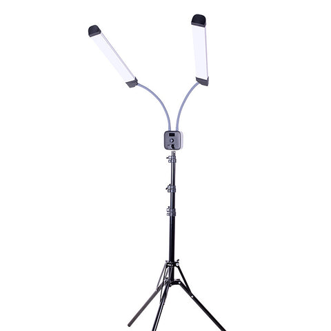 Pixco RL-55X Double Arms LED Light 3200K-5600K Photography Lamp With Stand Kit - Pixco
