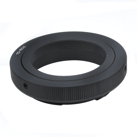T2-Canon EOS AF-2 Confirm Adapter with Aperture Adjustment - Pixco
