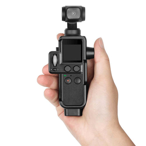Plastic Protective Cover Bracket Portable Protect Accessories Frame with 1/4 inch Thread for DJI OSMO Pocket - Pixco - Provide Professional Photographic Equipment Accessories