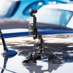 Suction Cup Car Holder Tripods Mount + Base Adapter for Dji Osmo Pocket - Pixco - Provide Professional Photographic Equipment Accessories