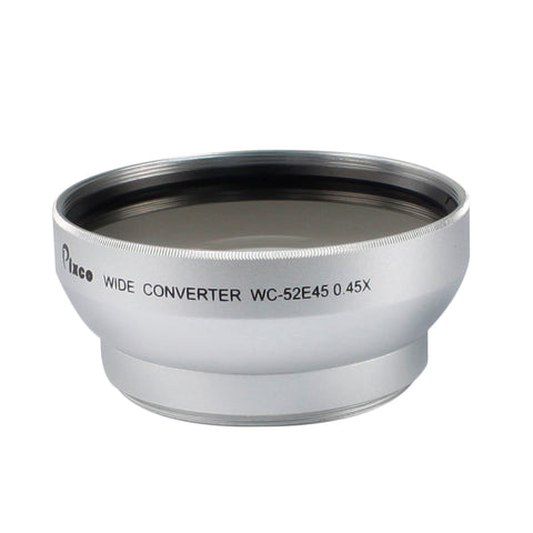 52mm 0.45X Wide Angle Lens - Pixco