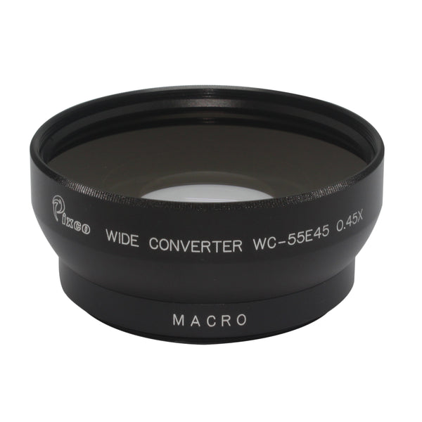 55mm 0.45X Wide Angle Lens - Pixco