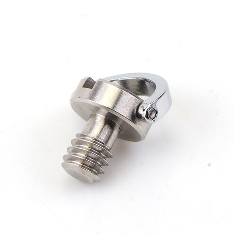 "1/4"" D-ring Stainless Steel Camera Screw - Pixco"