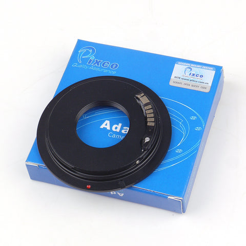C-Mount-Canon EF Macro AF-3 Confirm Adapter - Pixco - Provide Professional Photographic Equipment Accessories