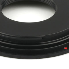C Mount-Canon EOS Adapter - Pixco