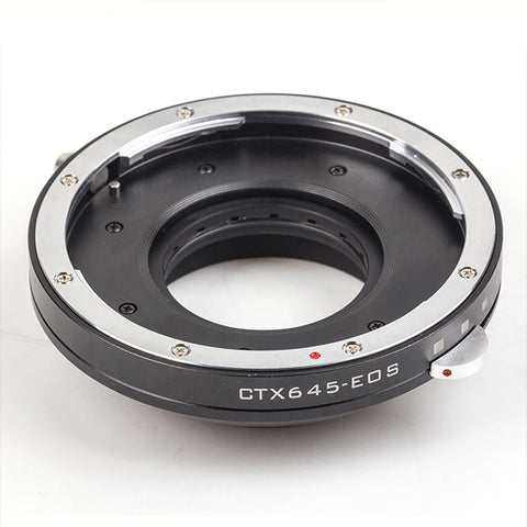 CTX645-Canon EOS Built-In Aperture Control Dial Adapter - Pixco - Provide Professional Photographic Equipment Accessories