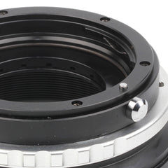 Canon EOS-Sony FZ Built-In Aperture Control Dial Adapter - Pixco