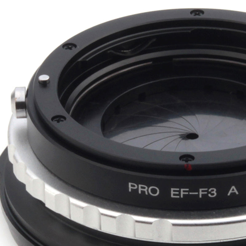 Canon EOS-Sony FZ Built-In Aperture Control Dial Adapter - Pixco - Provide Professional Photographic Equipment Accessories