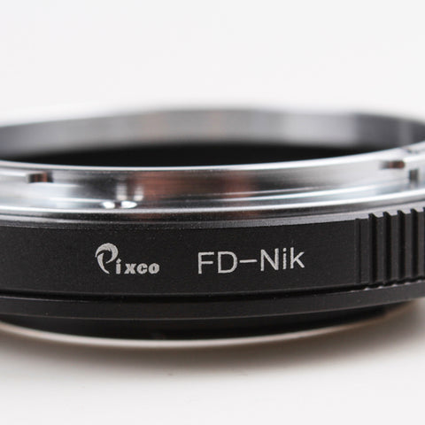 Canon FD-Nikon Adapter - Pixco - Provide Professional Photographic Equipment Accessories