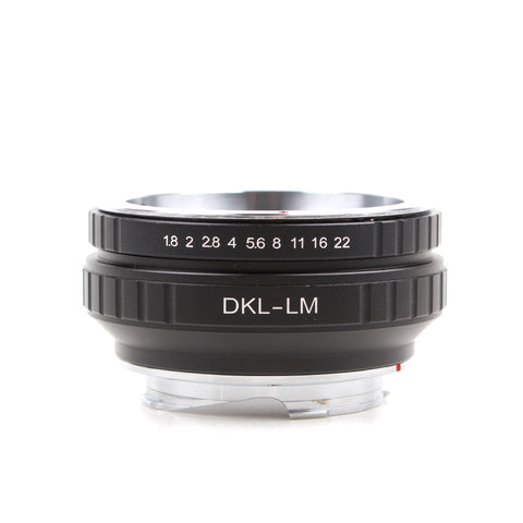 DKL-Leica M Adapter - Pixco - Provide Professional Photographic Equipment Accessories