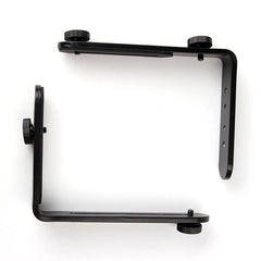Double L-shaped Bracket Holder Mount - Pixco