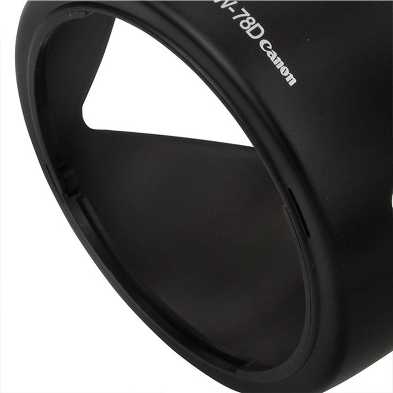 EW-78D Lens Hood - Pixco - Provide Professional Photographic Equipment Accessories